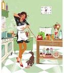 Aline en cuisine !!!