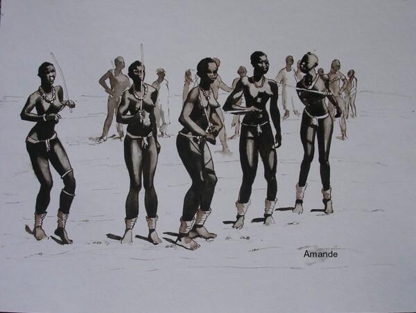 Vendredi - Un coup d'oeil dans le rétro : Danseuses d'Afrique