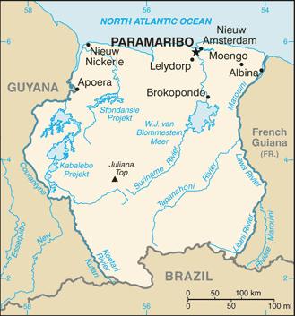 Blog de lisezmoi : Hello! Bienvenue sur mon blog!, Le Suriname : paramaribo