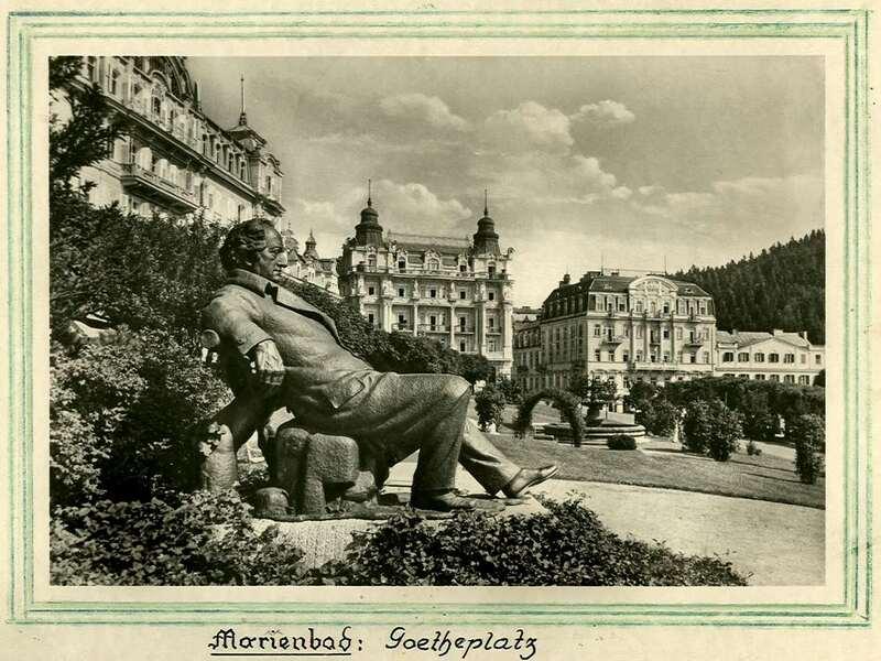 L'HISTOIRE DE MARIANSKE LAZNE - MARIENBAD