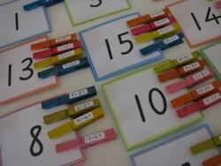 Jeu de calcul mental addition/soustraction