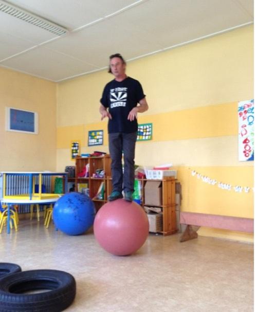 Semaine cirque en Maternelle