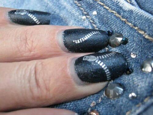 Nail art : Mon jean préféré