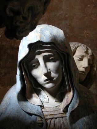 La mise au tombeau de l'église de Chaource