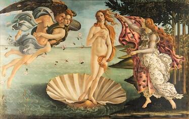 L'Œuvre à la Loupe : La Naissance de Vénus de Botticelli - Le blog d'art  contemporain de KAZoART