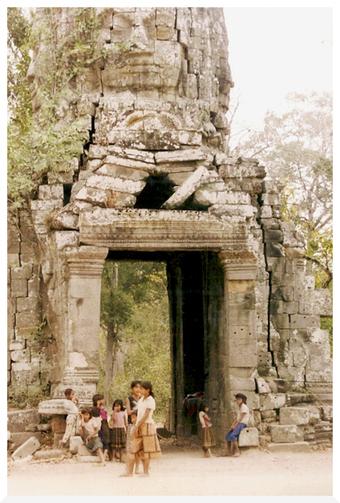 Voyage au Cambodge en 1993. Preah Khan