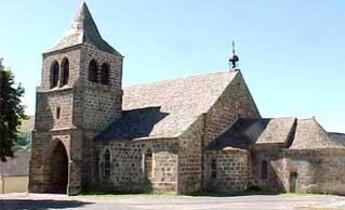 Eglise Saint-Léger de Cheylade.