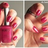 Carmine red - 447 - collection Satin nail lacquer - KIKO