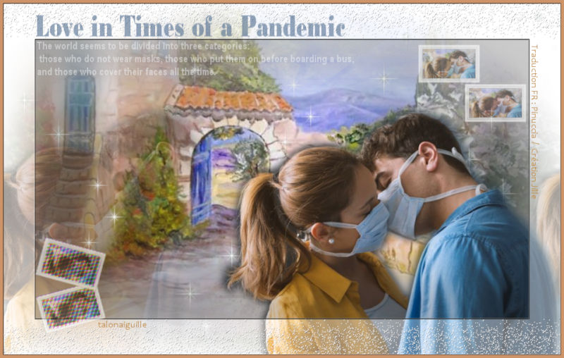 *** Love in times of pandemic ***