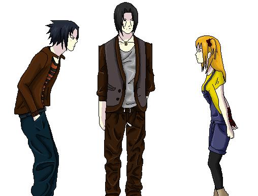 Sasuke & Itachi & Yumi [PA1]