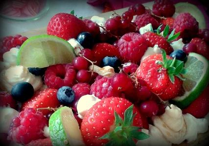 Des fruits rouges pour mon Fantastik !