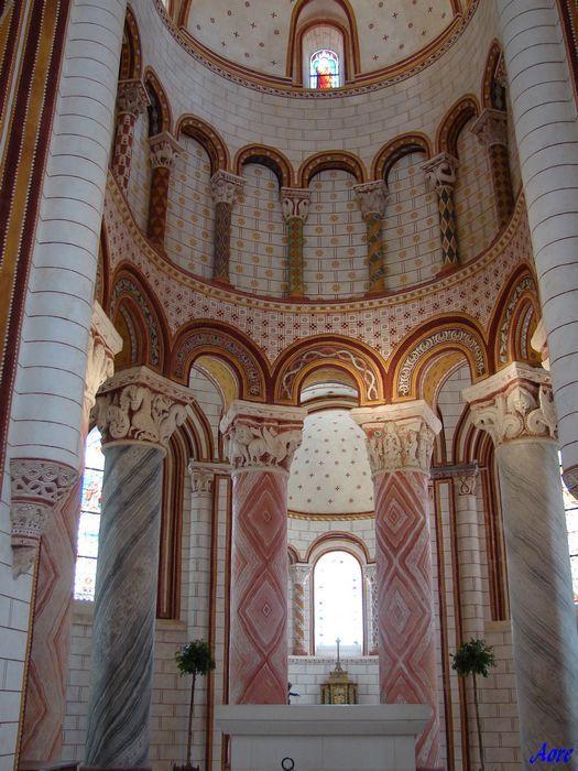 Poitou-Charentes, Vienne, Chauvigny , Eglise st pierre ,86300