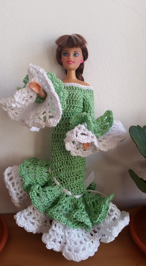 Troisième robe barbie (Juanita)