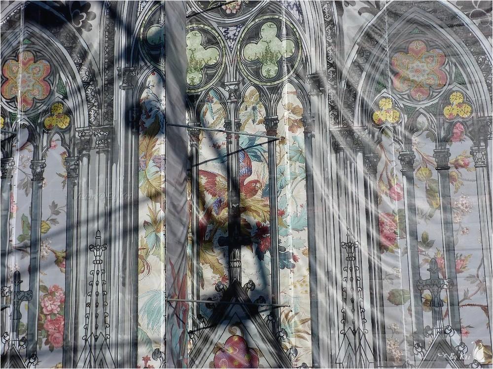Mulhouse (68) ~ En haut du Temple St Etienne ...