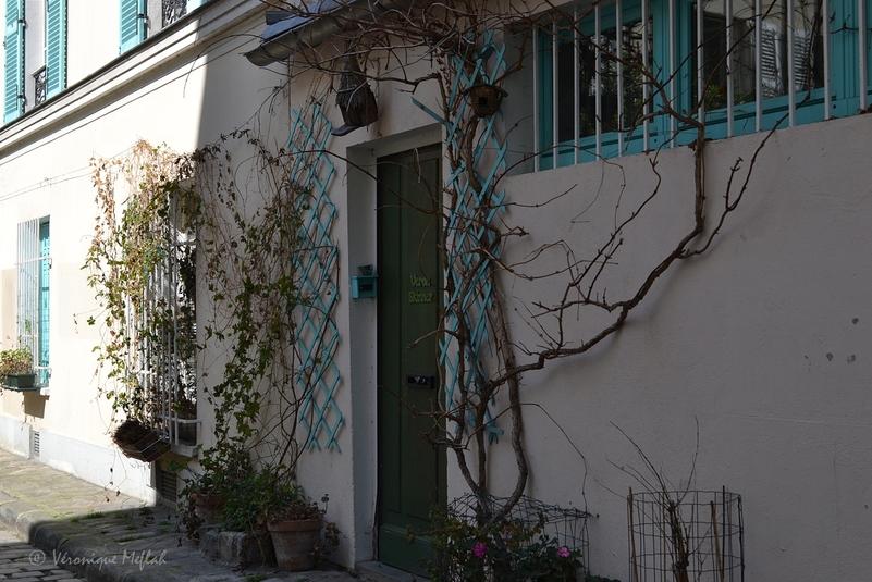 Rue des Thermopyles, le charme bucolique du 14éme
