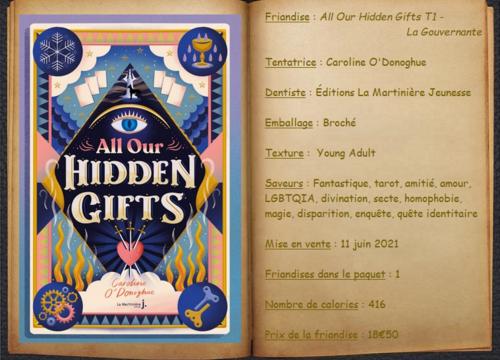 All Our Hidden Gifts T1 - La Gouvernante