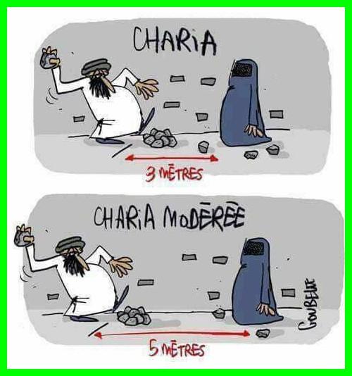Charia, islam etc..ce sont les infos que l'on n'ose pas vous dire.