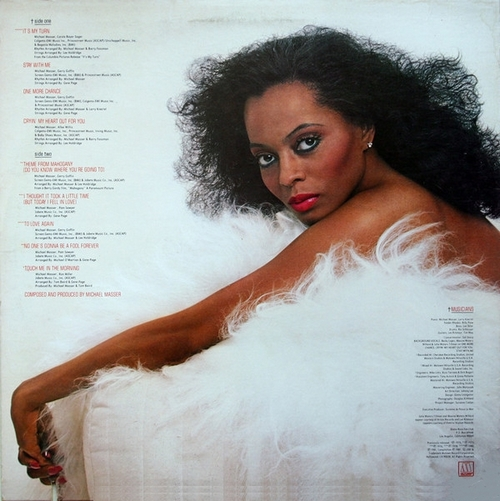 "Diana Ross : Album "" To Love Again "" Motown Records M8-951M1 [ US ]"