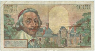 LE BILLET 1000 FRANCS RICHELIEU