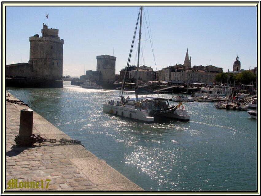 La Rochelle au mois d'août