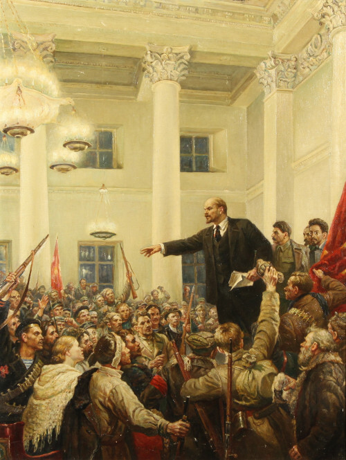 Lénine foule 5