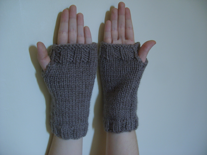 Mitaines faciles tetenlaine - Tricoter des mitaines facile ...
