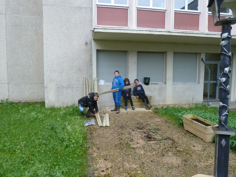 jardin collège lutterbach