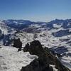 Du sommet du pic Peyreget (2487 m), sierra Tendeñera et sierra de la Partacua