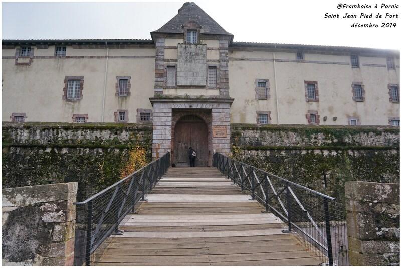 La cidatelle St Jean Pied de Port - Mendiguren