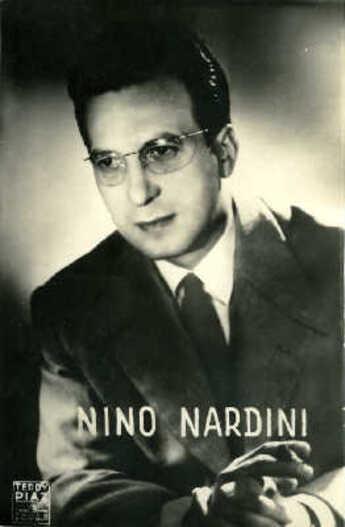Nino Nardini... Quelques beaux succès d'arrangeur chez les Compagnons !