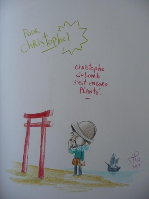 ma dédicace Japan expo 2011