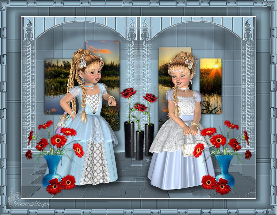 Kleine Prinzessinnen
