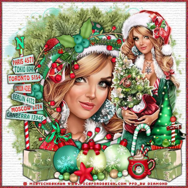 """Tutoriel """"Christmas World"""" de Liligraph"""