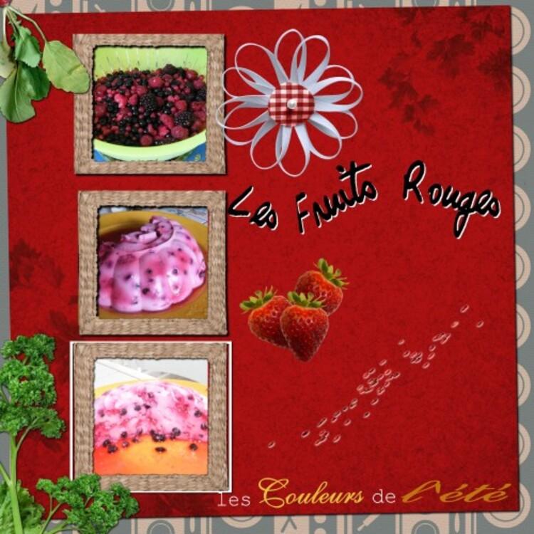 Couronne de Fromage Blanc aux Fruits Rouges