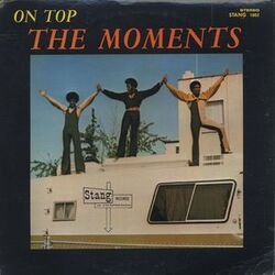The Moments - On Top - Complete LP