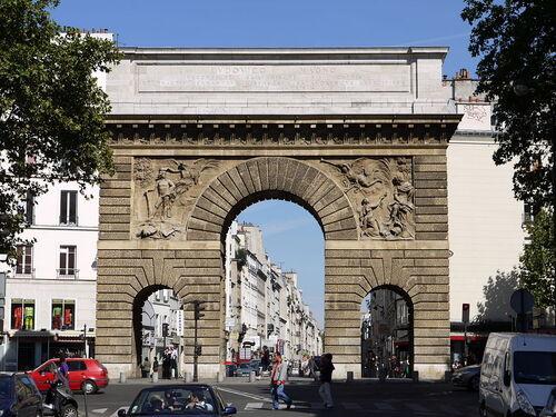 Les arcs de triomphes de Louis XIV...