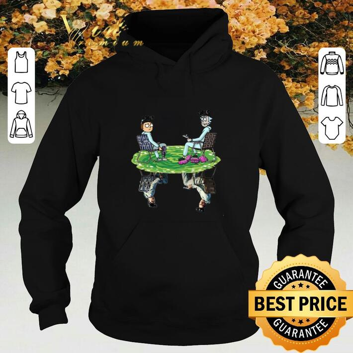 Nice Rick and Morty Crossover Walter and Jesse Breaking Bad shirt