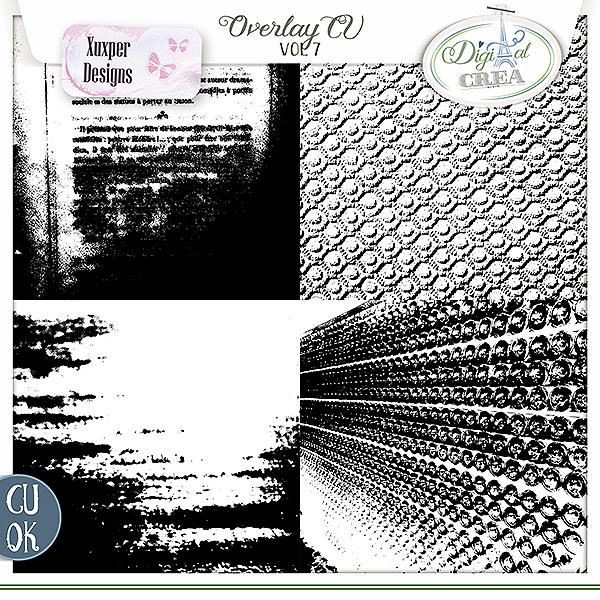 Overlay Cu vol 7 de Xuxper designs