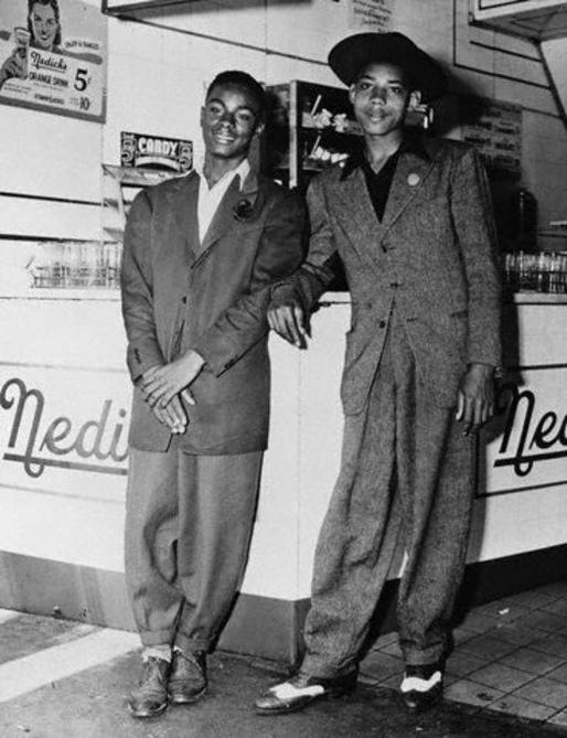 zoot Fashion 1940s