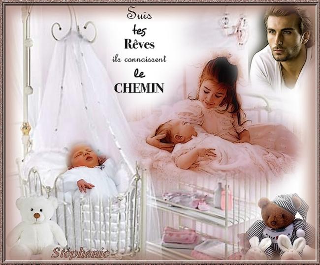 une creation sur des bébés