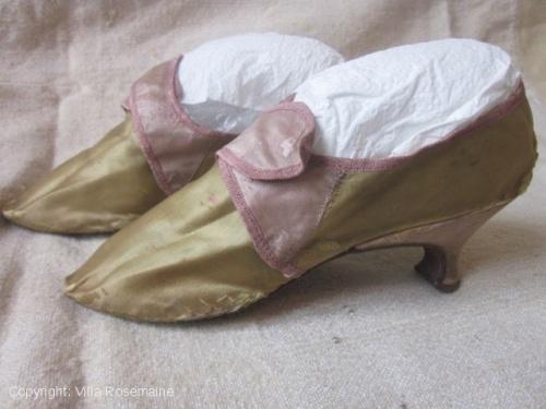 Chaussure du XVIIIè siècle