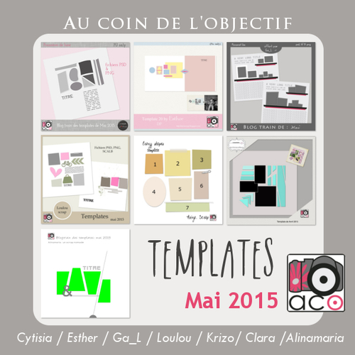 Le blog-train templates chez ACO