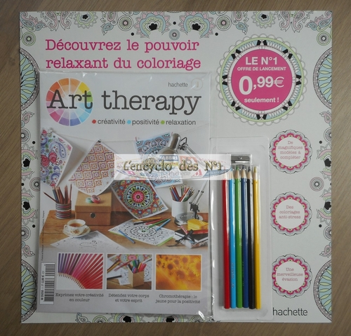N° 1 Art therapy - Lancement