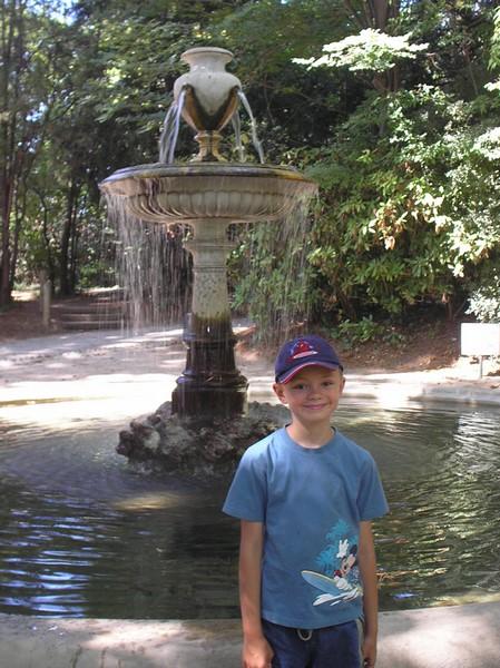 Au parc St Cyr