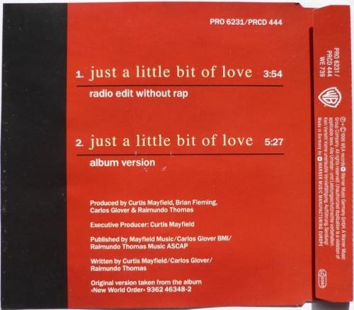 1997 : Single CD Warner Bros Records PRO 6231 / PRCD 444 [ GE ]