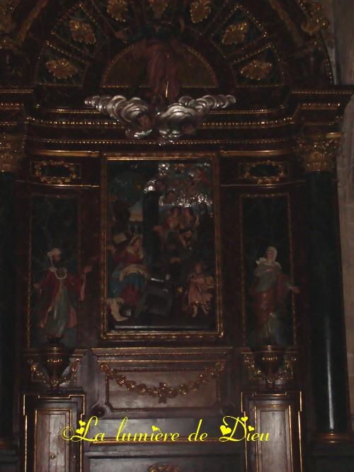 Saint Sébastien : église saint Vincent