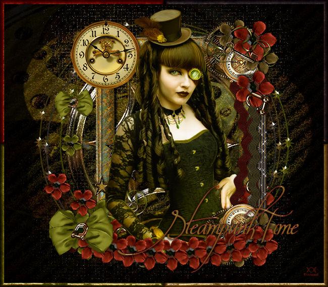 "Tutoriel ""Steampunk Time"" de Christa traduit chez Titoune"