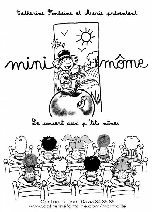 LES ACOUSTIQUES : concert Mini Môme et Les histoires de Zoé acoustiques