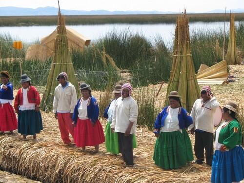 Voyage au Pérou...le lac titicaca..2006
