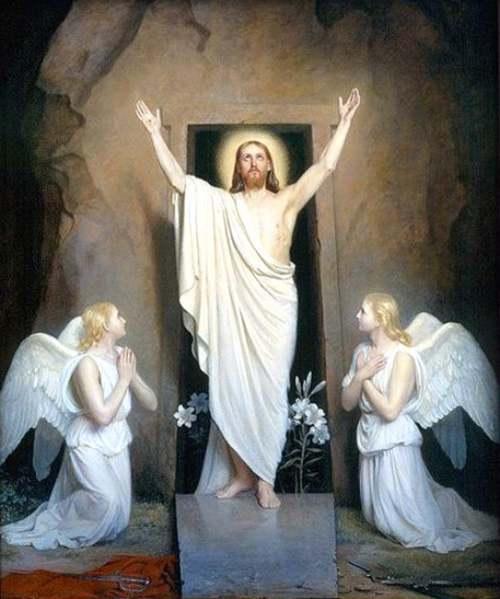 """La Pensée du Jour : """" Jésus est ressuscité """""""